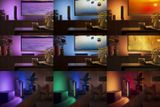Stolné svietidlo Philips HUE Play, čierne, 2200K - 6500K + RGB