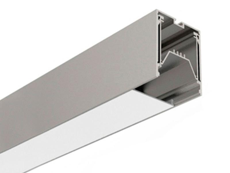 Hliníkový LED profil 6050 ( 7050 ) 60x50mm, bez difuzora