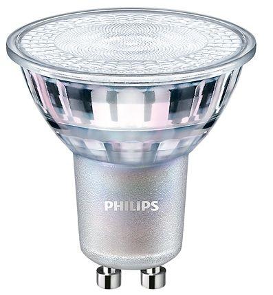 LED bodová žiarovk Philips MASTER GU10 4.9W 60° 3000K teplá biela stmievateľná