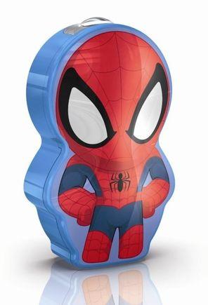 Disney Spider-man baterka, LED, 0.3W, bez batérií