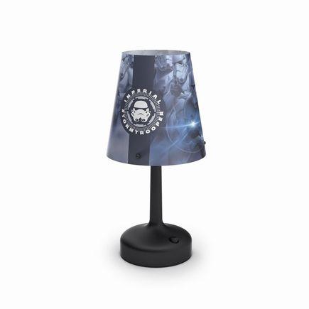 Disney Stormtrooper, stolná LED lampa, 0,6W 55lm 2700K bez baterií