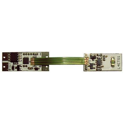 Dotykový stmievač - dimmer do profilu pre led pas s dotykovým senzorom