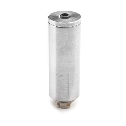 Držiak / záves pre profil LC-2308. Valček pre oceľové závesné lanko s vodivým kontaktom.