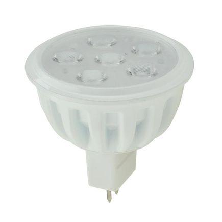 LED bodová žiarovka 5.5W, 12V, GU5.3 ( MR16 ), 450 lm, teplá biela