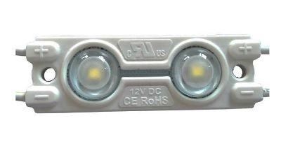 LED Modul 2x LED 12VDC,0.48W, 160°, IP65, 50-60lm, 47x15x7mm, medzi modulmi 13,5 cm,