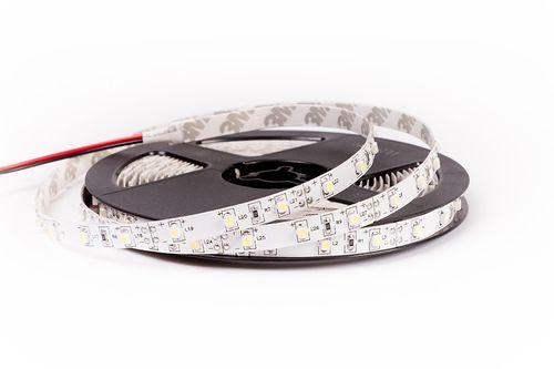 LED pás, 3528 SMD, 60pcs/m, 4,8W, IP00V, studená biela, 12V