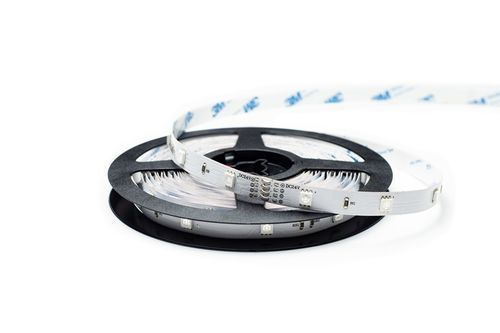 LED pás, 5050 SMD, 30pcs/m, 7.2W, IP00, RGB, 24V, širka 10mm