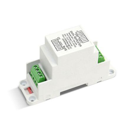 PWM zosilňovač / repeater na DIN lištu 1x10A , 12/24V DC, 120/240W