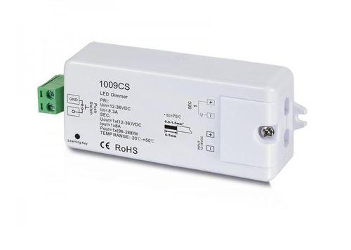 RF prijímací modul 1009CS; input 12-36VDC; 1×8A; PWM stmievanie
