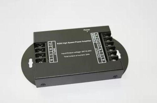 RGB Repeater ( zosilovač RGB signálu), 3x8A, 12/24V DC