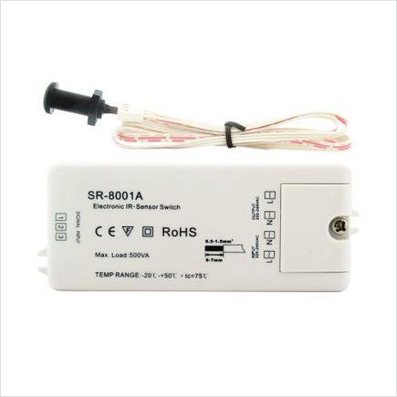 Senzor IR ON / OFF 230VAC, 500W