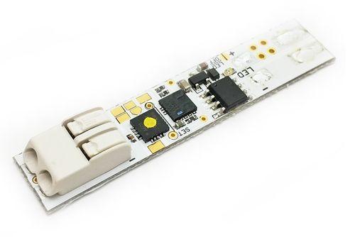Stmievac - dimmer do profilu 3v1 s konektorom, 10x50 mm