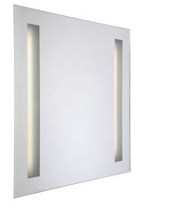 Svietidlo MIRROR Square ( svietiace zrkadlo ) 60x60x5 cm, trubica T5  2x13W, IP44